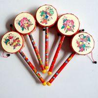 Geleneksel oyuncak satan üreticiler el davul enstrüman fabrika doğrudan sevinç uğurlu barış büyük Congyou