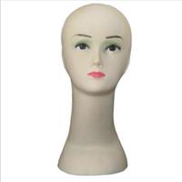 Женский манекен головы шляпа дисплей парик обучение головы модель головы