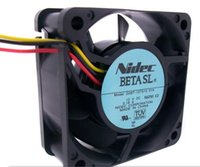 NIDEC 6025 6cm وD06T-12TS15 12V 0.18A 3wire، B34605-16 12V 0.58A 2Wire مروحة التبريد
