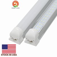 8. 2usd pcs 28W T8 4ft led Double row tube integrated lights ...