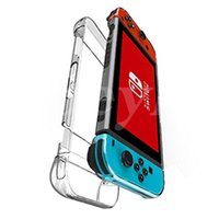 Ultra-Thin Anti-Scratch Hard Shell PC Case Cover Cover pour Nintendo Switch Transparent Ergonomique Accessoires Skin 2017