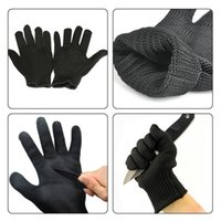 Wholesale Stainless Steel Wire Safety Gloves Works hands pro...