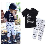 Wholesale ins Boys Girls Baby Childrens Clothing Sets Summer...