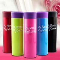 My Bottle Water Cups 390ML Vacuum Bottle Stainless Steel Por...