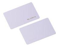 100pcs / lot TK4100 4102 / EM 4100 puce RFID 125KHz carte vierge Carte d'identité à puce PVC mince