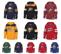 Publicité sur mesure Hockey Pullover Nashville Predators Detroit Ailes rouges Montréal Canadiens San Jose Sharks Pittsburgh Pingouins Sabres