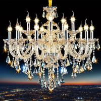 Moderne Kristall Kronleuchter Wohnzimmer Cristal Dekoration Anhänger und Kronleuchter Home Beleuchtung Indoor Lampe