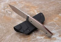 Blog LC small straight knife D2 blade stone wash 60- 61HRC G1...