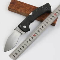Cold Steel Small Dogleg Outdoor Tactical Folding Knife D2 Bl...