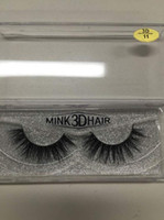 Top quality soft 100% real handmade cheap mink strip lashes ...