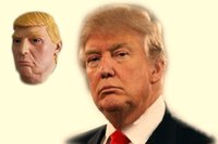 Başkan Aday Bay Trump Cadılar Bayramı Maskesi Lateks Yüz Maskesi Billionaire Başkanlık Donald Trump Parti Için NightClub Lateks Maskeleri maskeleri