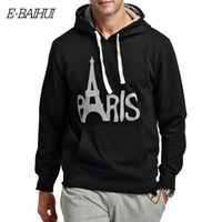 Wholesale-E-BAIHUI brand mens hoodies and sweats Moleton Masculino Algodão Suit Men Sweatshirts masculinos casaco de inverno swag WY002