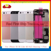 For iPhone 5S Full Housing and 5S Like SE Middle Frame Bezel...
