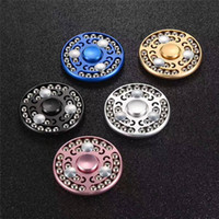 New Metal Fidget Spinner 27 Perles Round Steel Ball Hand Spinners Jouets de décompression Spiral Exquisite Design DHL Free