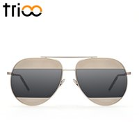 Wholesale- TRIOO High Fashion Patchwork Brand Design Sun Glas...