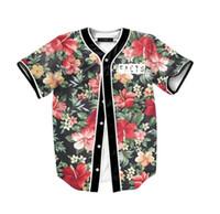 Männer Landschaft Blumendruck Strand T-shirts 3d t-shirt camiseta homme luxus t-shirt männer marke Kontrast farbe Schwarz tops