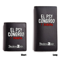 Steins Gate Short Purse EL PSY CONGROO Wallet Men Boys Girls...