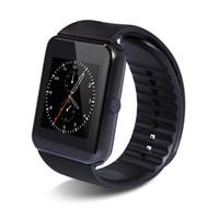 GT08 Bluetooth Smart Watch mit SIM-Karten-Slot und NFC Health Watch für Android Samsung und iphone Smartphone Armband Smartwatch freies DHL