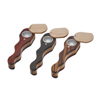 Wood Pipes Smoking Pipes sliding closure 22mm width 83mm Hei...
