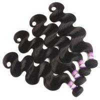 9A бразильские волосы девственницы 3 совокупятся бразильские волны тела человеческие волосы наращивание волос ALI Queen Fair Products беззубый бразильский вал
