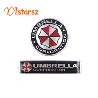 3D Stickers Aluminum Umbrella Corporation Car Sticker and De...