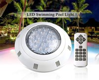 Настенное крепление AC 12 в RGB LED подводный бассейн огни водонепроницаемый IP68 холодный белый освещение лампы 18 Вт 36 Вт 54 Вт с функцией синхронизации