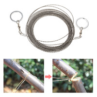 20PCS Set New Stainless Steel Wire Saw Outdoor Practical cam...