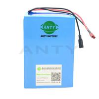 Ücretsiz nakliye ve Görev Şarj edilebilir lityum pil 36v 40Ah eBike pil 36v 1000w li-ion batarya paketi + 5A şarj + 50A BMS