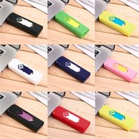 Awesome Multicolor USB Lighter Windproof Rechargeable Flamel...