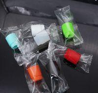 810 Punta de goteo desechable de silicona de diámetro ancho Cubierta de boquilla colorida Tapas de prueba de goma con paquete único para TF12 TFV8 bebé grande Kennedy
