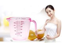 1 ADET 3 Renk 300 ML PS Plastik Ölçüm Bardak Pişirme Aracı Ölçme Mutfak Terazisi LB 036