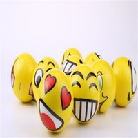 Emoji Faces Squeeze Stress Ball Decompression Toy Novelty Ha...