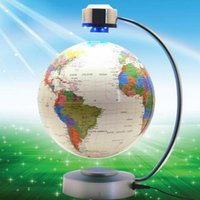 8 Inch Electronic Magnetic Levitation Floating Globe World M...