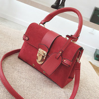 crossbody bags for women shoulder bags female leather suede ...