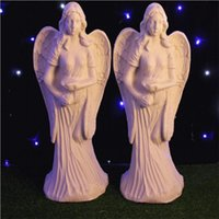 New Arrival White Angel Plastic Roman Column Fashion Wedding...