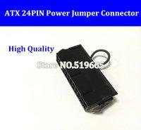 Kina Partihandel ATX PSU 24pin 24P 2 * 12PIN Strömförsörjning Jumper Starter Jack Adapter Connector för server BTC Miner Machine