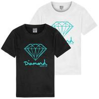 Men's T shirt Letter Print Diamond Supply Co Printed Man T Shirt New Summer  Mens T-shirt Harajuku Casual Hip Hop Cotton Tees