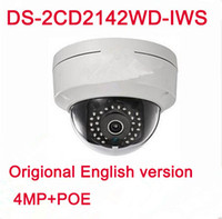 4MP POE IP WIFI Wireless dome camera HD DS- 2CD2142FWD- IWS re...
