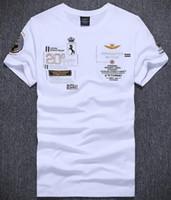 f9a5661efd Hot Comprar Polo Men 2017 Novo AERONAUTICA MILITARE Moda Slim Fit Polos  Camisa Dos Homens Air Force One Tee T-Shirts de Algodão dos homens Casuais