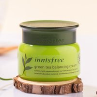 Korean Brand Innisfree Green Tea Balancing Cream Moisturizin...