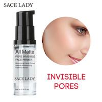 Tous les pores mates invisibles Fondation Invisible Primer Mattifiante Pore Minimizer Primer lisse Fine Fine Lignes de contrôle de l'huile Maquillage Primer 6ml