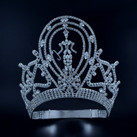 Pageant Crowns Tiaras Lager Adjustable Miss Pageant winner Q...