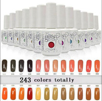 2017 New arrival upgraded 243 colors Harmony gelish SOAK- OFF...