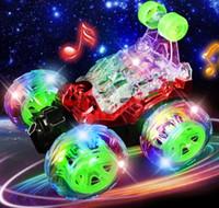 Stunt Fernbedienung Auto Spielzeug Auto Super Tuminking Stunt Auto Flips Elektrische Muldkipper Fernbedienung Spielzeug YH702