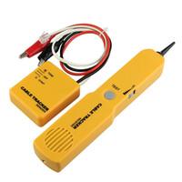 Portabl RJ11 Réseau Téléphone Téléphone Câble Testeur Toner Fil Tracker Tracer Diagnostiquer Tone Ligne Finder Détecteur Outils de Réseautage