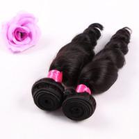 Fabrika Toptan en kaliteli Sınıf 7A gevşek kıvırmak insan saçı dokuma ucuz fiyat ham işlenmemiş brezilyalı saç, 90 g / pc3pcs / lot