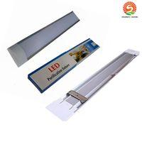 새로운 표면은 LED 판자 더블 행 튜브 조명 2FT 4FT T8 고정 장치 Purificati LED 트라이 - 증거 라이트 튜브 20W 40W AC 110-240V의 sunway518 탑재