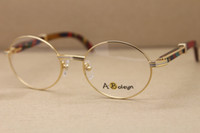 Tavuskuşu Çerçevesi Sıcak Altın 2021 Ahşap Gözlük Boyutu: 57-22-140mm Kadın Tasarımcı Gözlük 7550178 Toptan Kutusu De Tlulo