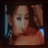 P3 3M*4M Flexible LED Video Wall/Soft LED Video Curtain PC Control,LED Flexible Screen,LED Video Wall Screen with Flight Case