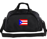Сумка Puerto Rico Сумка для отдыха Рюкзак для отдыха с футбольным багажом Спортивная спортивная сумка на плечо